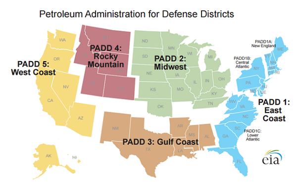 Petroleum Admi for Defense Districts - Apr 16